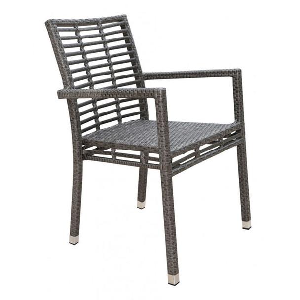 Graphite Outdoor Stackable Armchair