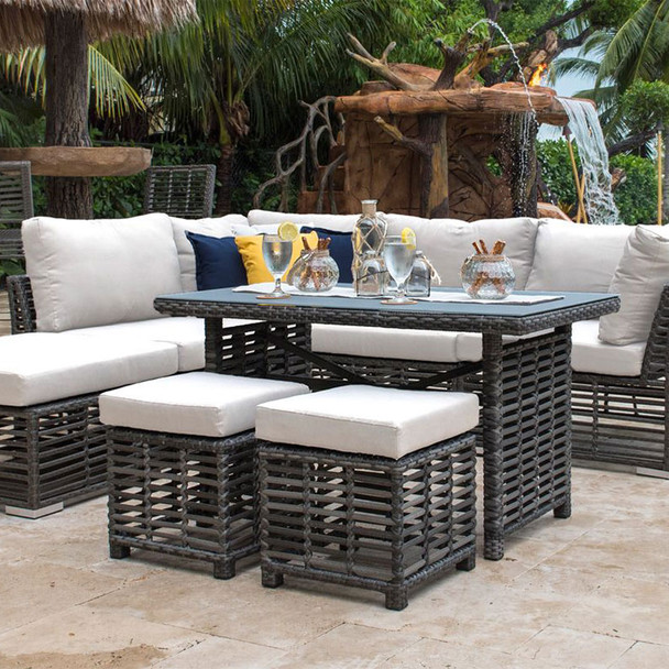 Graphite Outdoor Sectional Collection