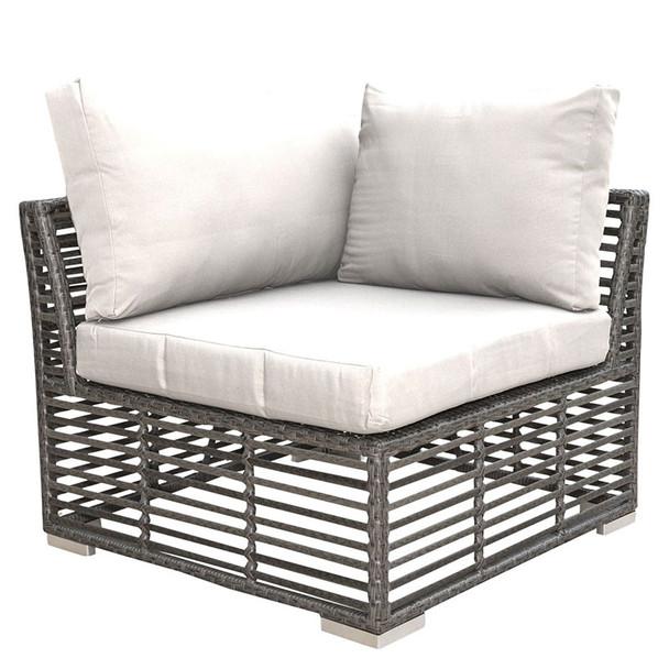 Graphite Outdoor Corner Chair
