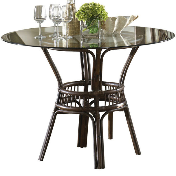 Bora Bora Dining Table with Glass Top