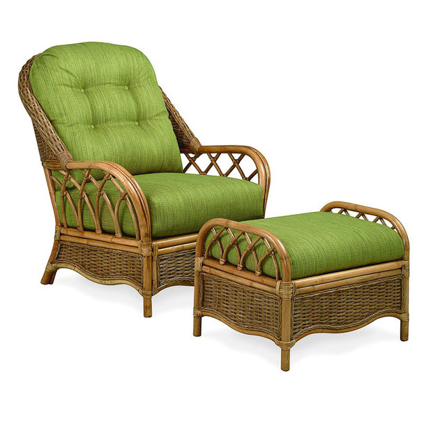 Everglade Lounge Chair and Ottoman