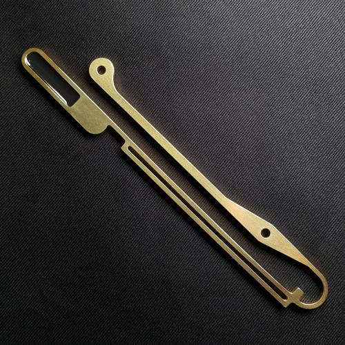 Qi'Ra Cape Clasp,  Laser cut in Brass