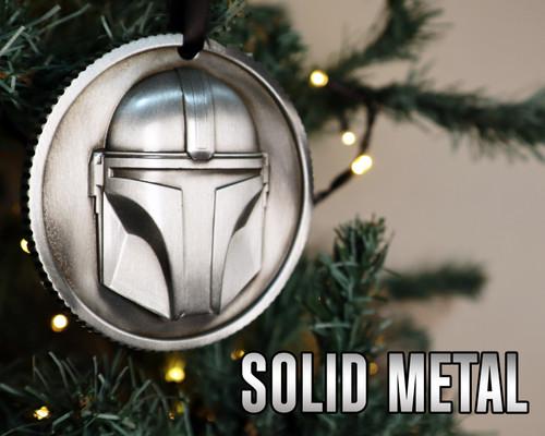 The Mandalorian Metal Decoration