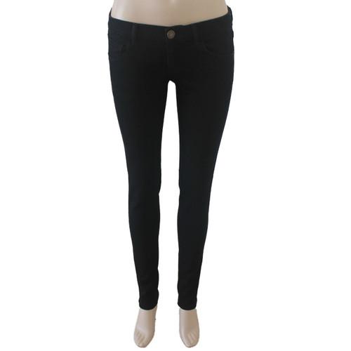 Skinny Jeans for Women Black Mid Rise