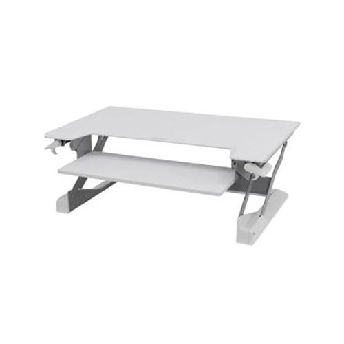 Ergotron WorkFit-TL, Sit-Stand Desktop Workstation, White (33-406-062)