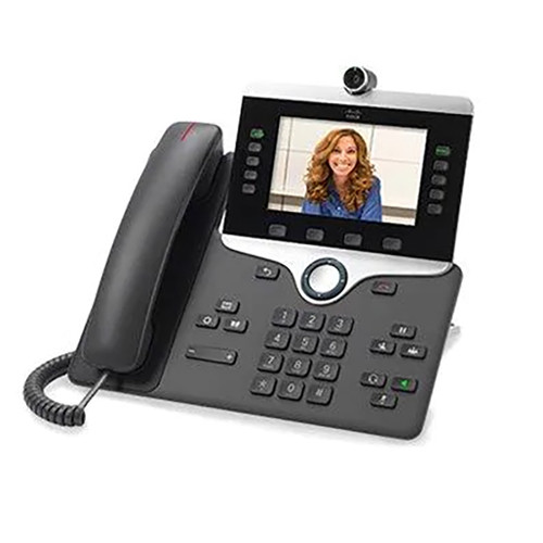 Cisco IP Phone 8865 VoIP 720p HD Video Wideband Audio (CP-8865-K9=)