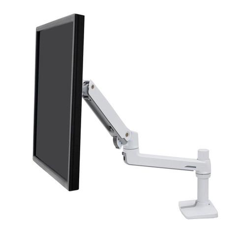 Ergotron LX Desk Mount Monitor Arm White (45-490-216)