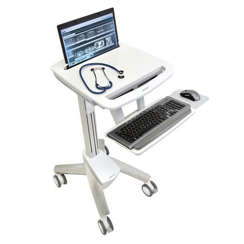 Ergotron StyleView Laptop Cart Non-Powered SV40 Medical Cart (SV40-6100-0)