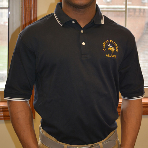 Navy Alumni Golf Shirt