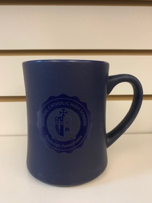 CCHS Navy Mug w/Seal (Matte Finish)