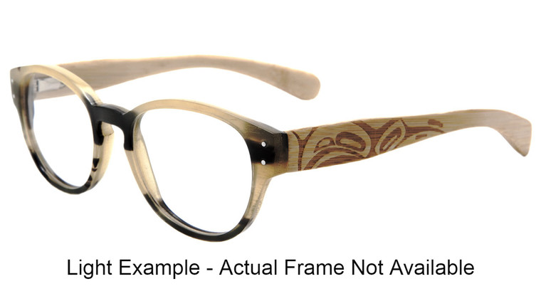 Sitka - Light Buffalo Horn and bamboo. This exact frame is not available.