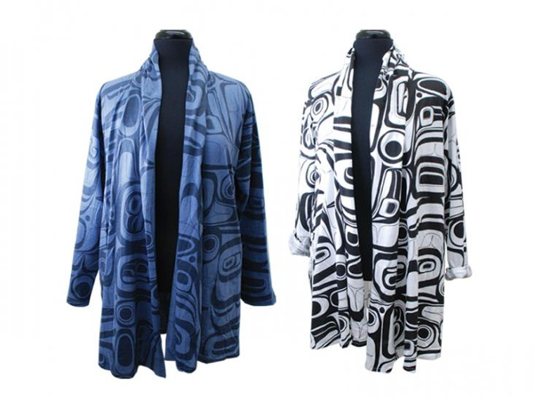 Kelly Robinson Raven Swing Coat