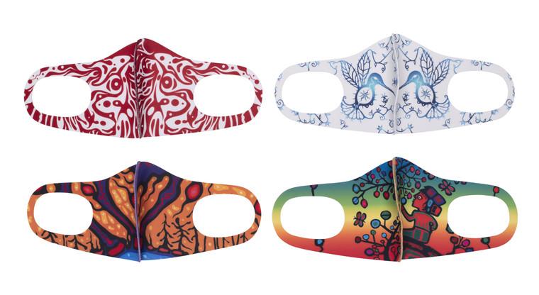 Donald Chretien Microfiber Masks Collection 2