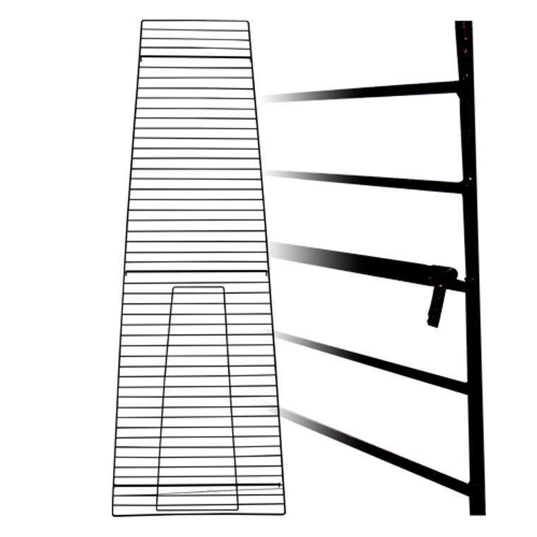 LHP-122 - Matte Black Grids for Triangular Unit