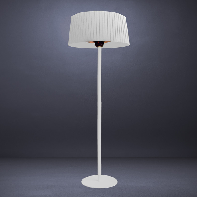 SHADE E-LINE- EL7ERW - HEAT LAMP - Arctic White - 1500W