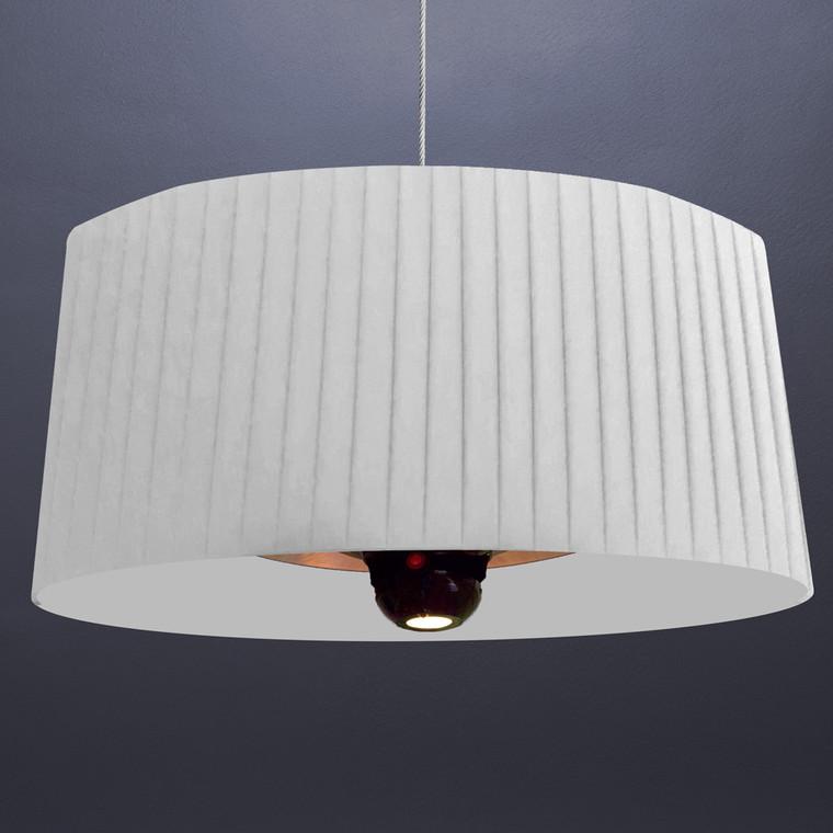 SHADE E-LINE- EL2ERW - HEAT LAMP -  Arctic White - 1500W