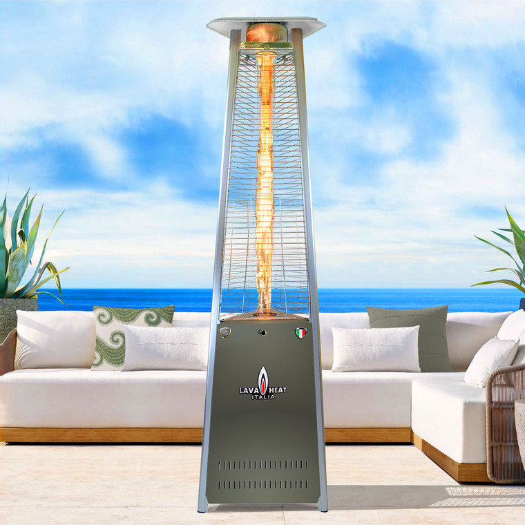 LAVAlite A-LINE COLOR-POP Pop of Color 56,000 BTU Heater FLASH GOLD