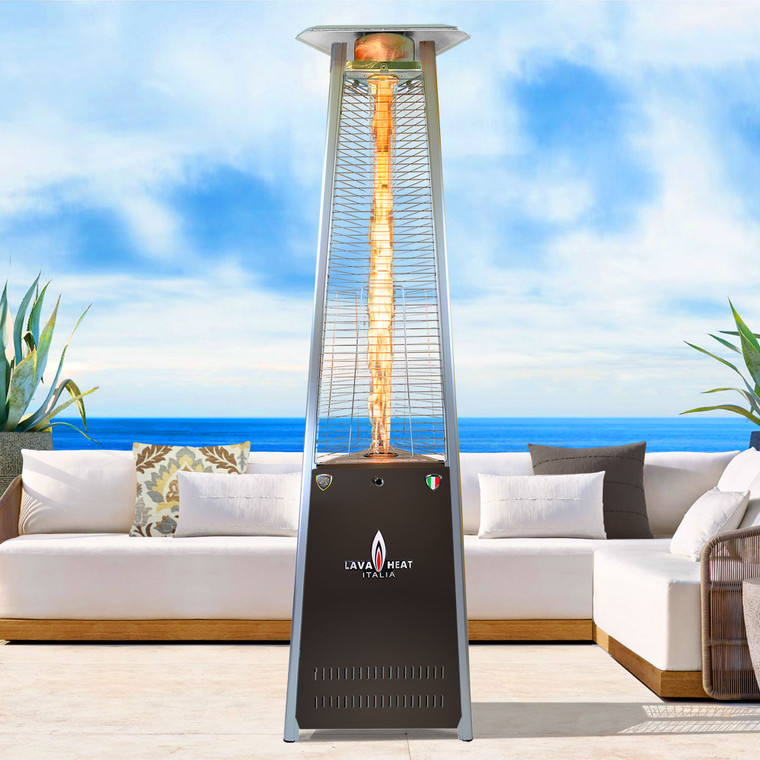 LAVAlite A-LINE COLOR-POP Pop of Color 56,000 BTU Heater STATUARY BRONZE