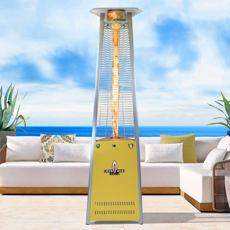LAVAlite A-LINE COLOR-POP Pop of Color 56,000 BTU Heater IRIDESCENT GOLD