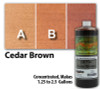 Water Reducible Concentrated (WRC) Concrete Stain - Cedar Brown 32oz