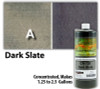 Water Reducible Concentrated (WRC) Concrete Stain - Dark Slate 32oz