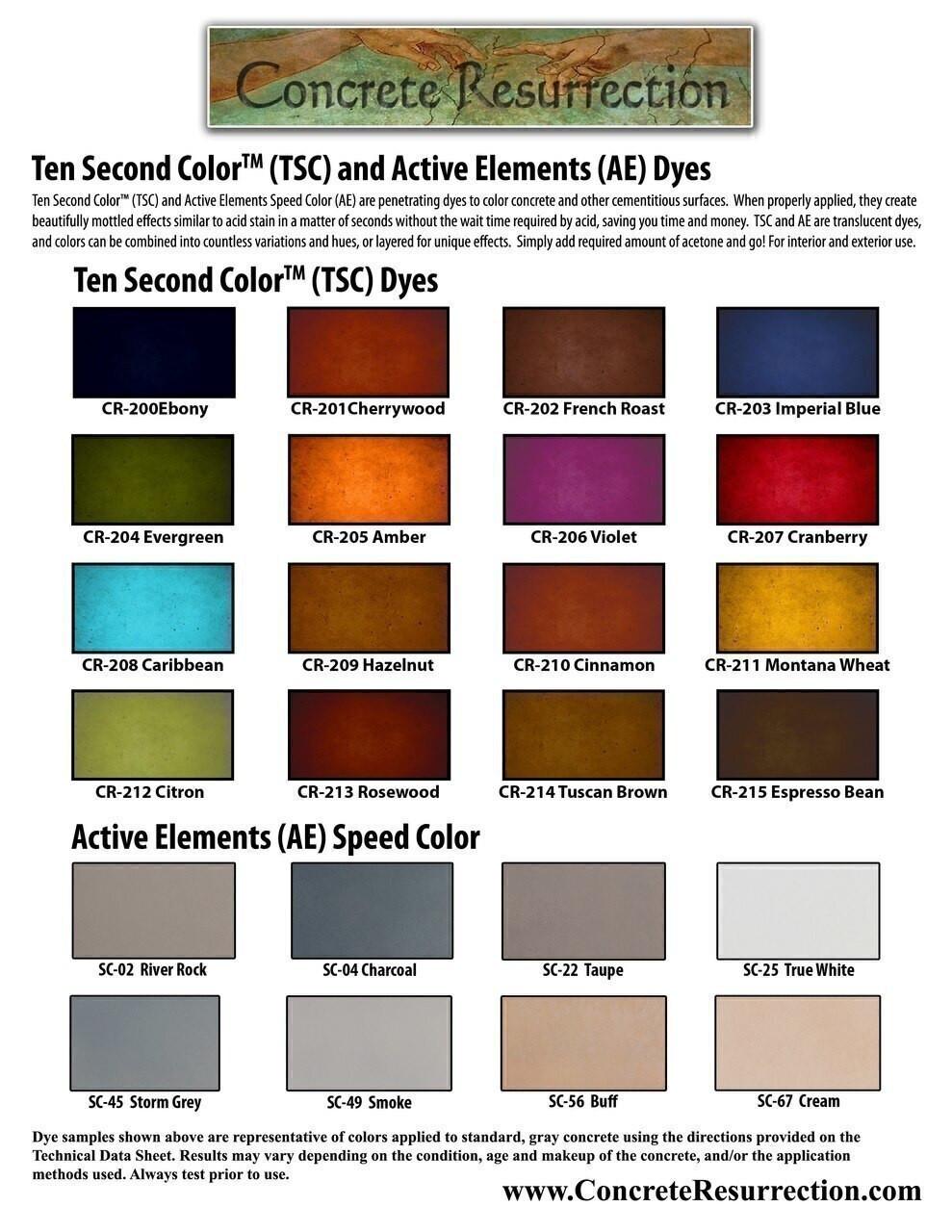 Ten Second Color - Espresso Bean - 1 Gallon