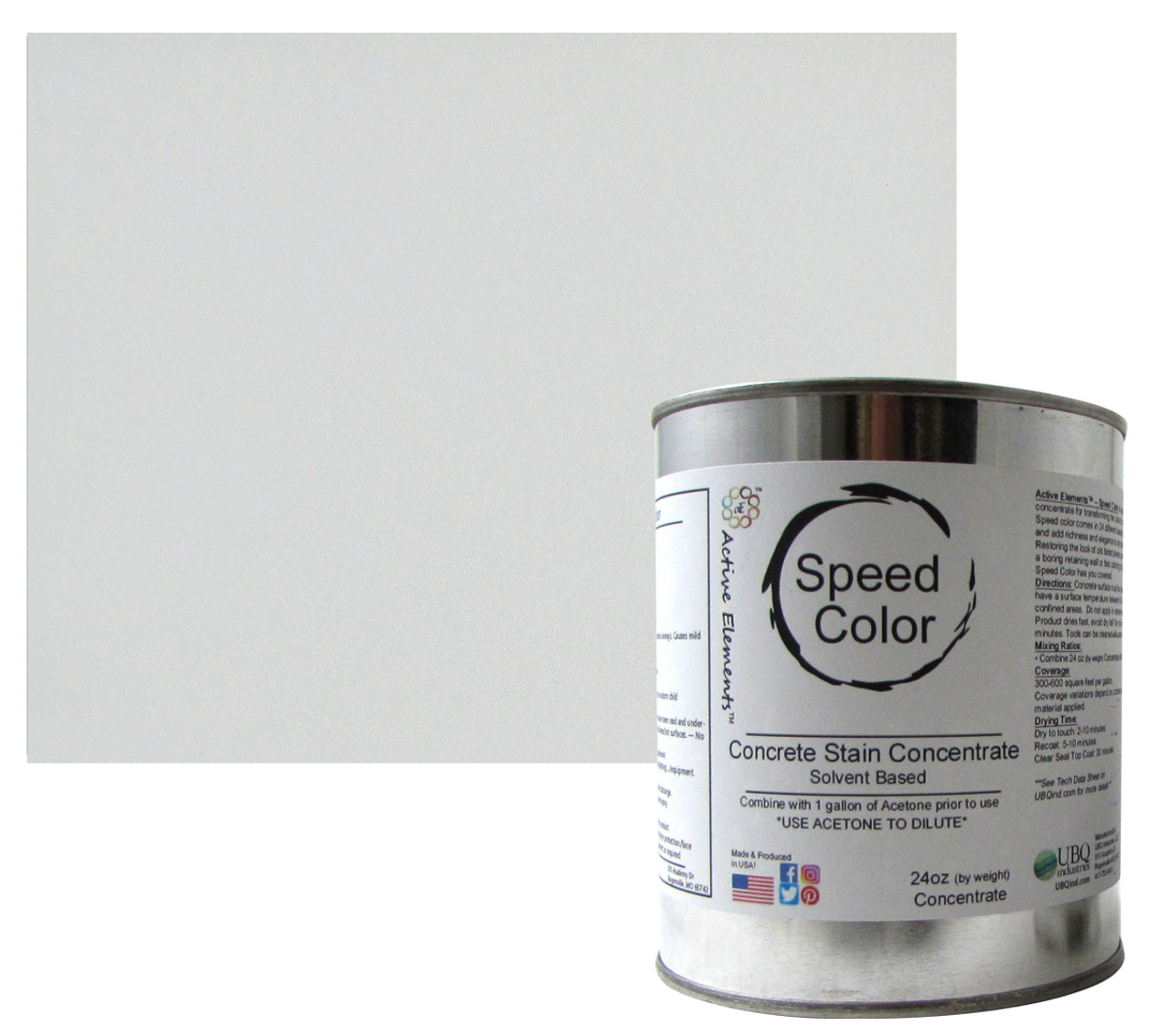 Speed Color - True White 32oz