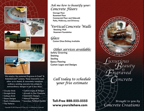 Your Own Custom Brochure