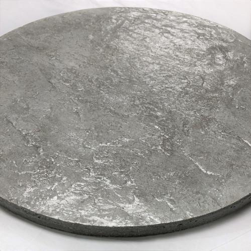 "Stone Textured Concrete Lazy Susan 18-1/4"""