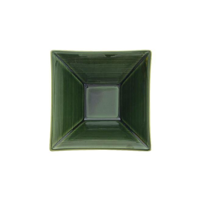 Bol carré japonais bambou vaisselle japonaise