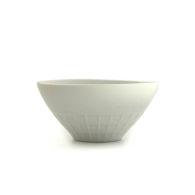 Bol japonais blanc vue de côté