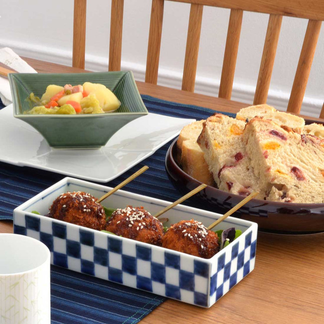 Bol japonais en damier vaisselle japonaise
