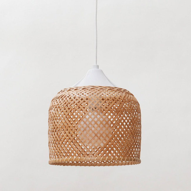 Abat-jour japonais lampe bambou