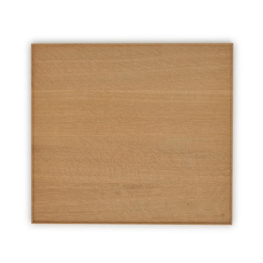 Plateau japonais en chêne bois