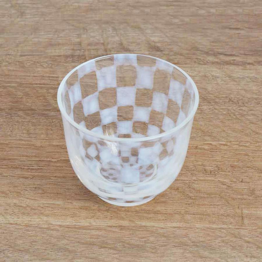Verre japonais Hirota Glass vue de face