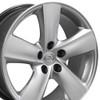 "18"" Lexus LS460 Style Toyota Wheels Hyper Silver Set of 4 18x8"" Rims"