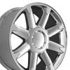 "20"" Fits GMC Denali Wheels Chrome Set of 4 20x8.5"" Rims"