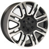"""20"""" Fits Ford F 150 Expedition Lincoln Navigator Wheels Rims Matte Black w/Machine Face Set of 4 20x8.5"""" Rims"""