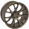 "22"" Hellcat Style Bronze Dodge Ram 1500 Wheels Dakota Durango Chrysler Set of 4 22x10"" Rims"