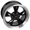 "17"" Fits Mustang® Bullitt Wheel Black 17x8"