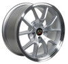"""18"""" Fits Ford® Mustang® GT4 FR500 Wheels Silver Set of 4 18x9"""" Rims"""