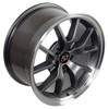 """18"""" Fits Ford® Mustang® GT4 FR500 Staggered Wheels Anthracite Set of 4 18x9/10"""" Rims"""