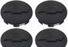 Chevy Bowtie Center Caps Silverado Suburban 2010-14 Tahoe Matte Black 3.25 Set of 4 Brand new Factory OEM Style