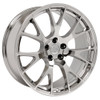"Hellcat Style 22"" Chrome Dodge Ram Wheels Dakota Durango Chrysler Set of 4 22x10"" Rims"