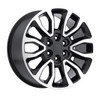 """20"""" Fits Ford® F150 6 Lug Wheels Black Machined Face Raptor Style Set of 4 20x9"""" Rims"""