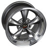 """17"""" Fits Ford Mustang® Bullitt Wheel Anthracite with a Fine Machined Lip 17x9"""" Rim"""