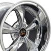"""18"""" Fits Ford® 2005 Mustang® Bullitt Wheel Chrome 18x10"""" Rim"""