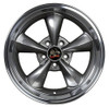 """18"""" Fits Ford® 2005 Mustang® Bullitt Wheel Anthracite with a Fine Machined Lip 18x10"""" Rim"""