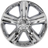 "20"" Fits Dodge Ram 1500 Chrysler Durango Dakota Wheels Chrome Set of 4 20x9"" Rims Hollander 2267"