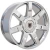 "24"" Fits Cadillac Escalade GMC Suburban Tahoe Wheel Chrome 24x10"" Rim Hollander # 5309"